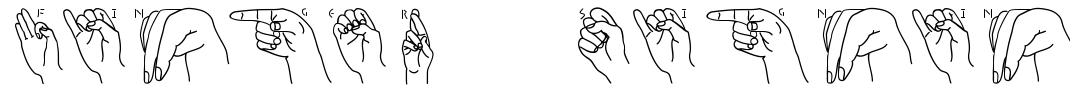 Finger Signing