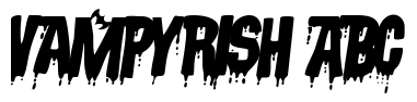Vampyrish ABC