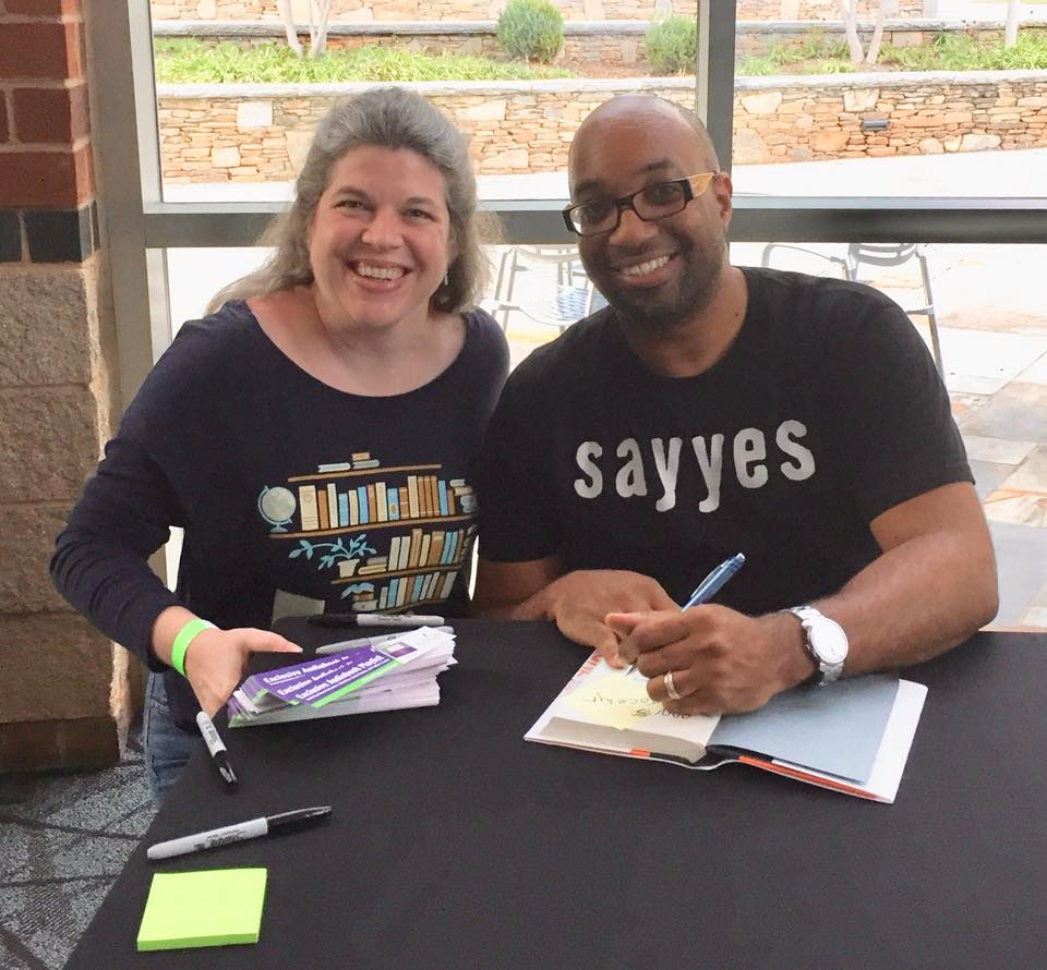 Jocelyn Rish and Kwame Alexander