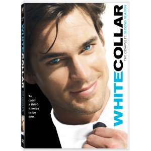 Matt Bomer on White Collar DVD cover