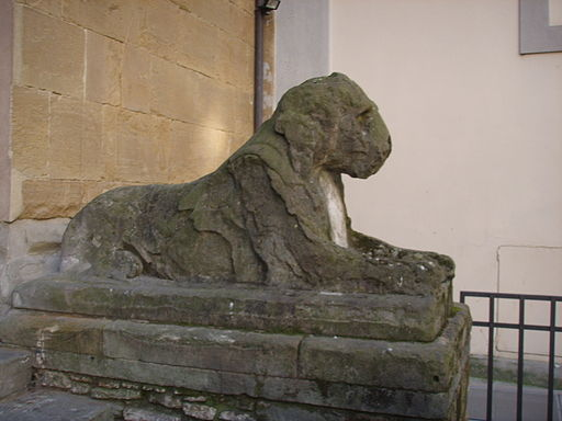 Weathered Lion