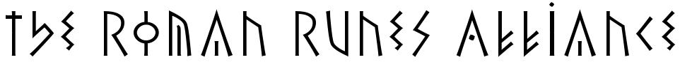 The Roman Runes Alliance