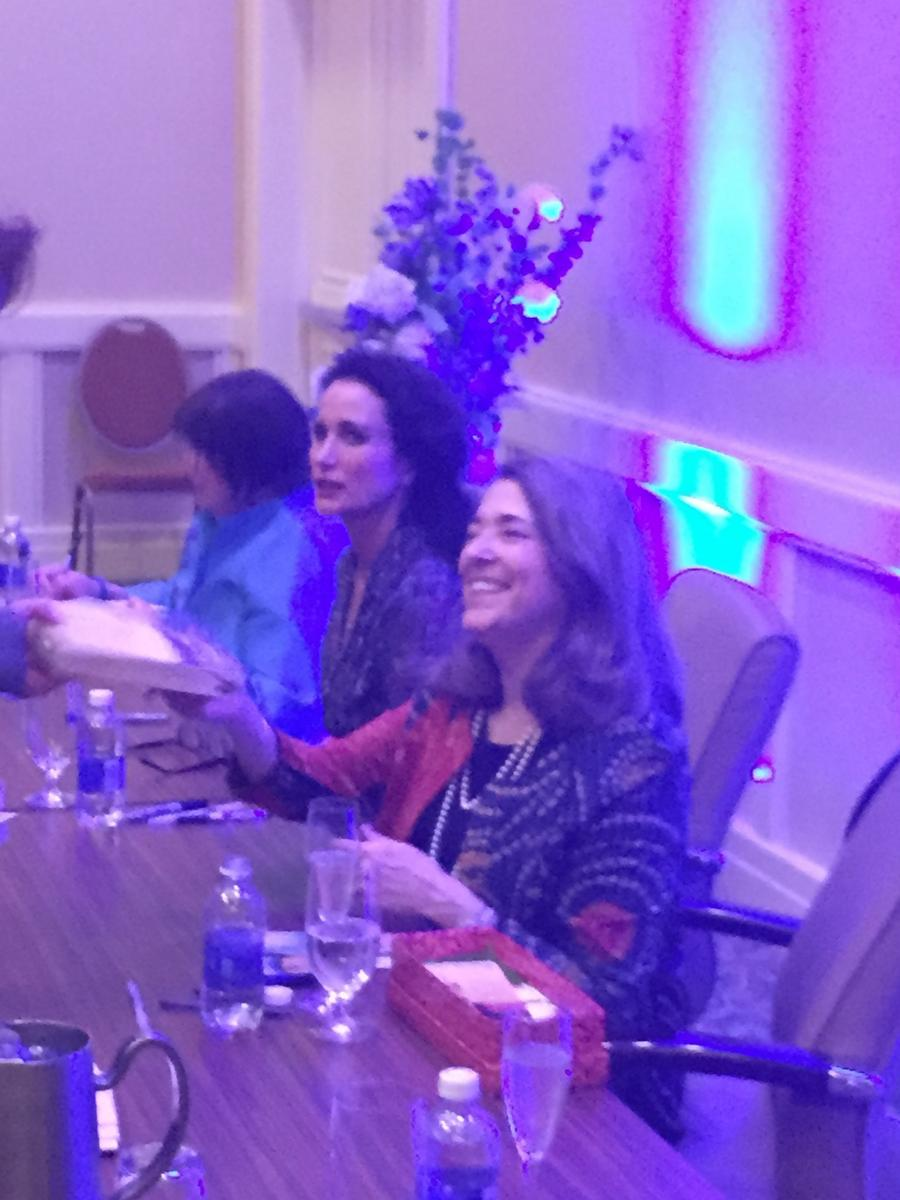 Alice Monroe and Andie MacDowell