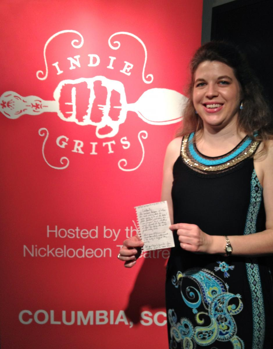 Jocelyn with Flash Story at Indie Grits
