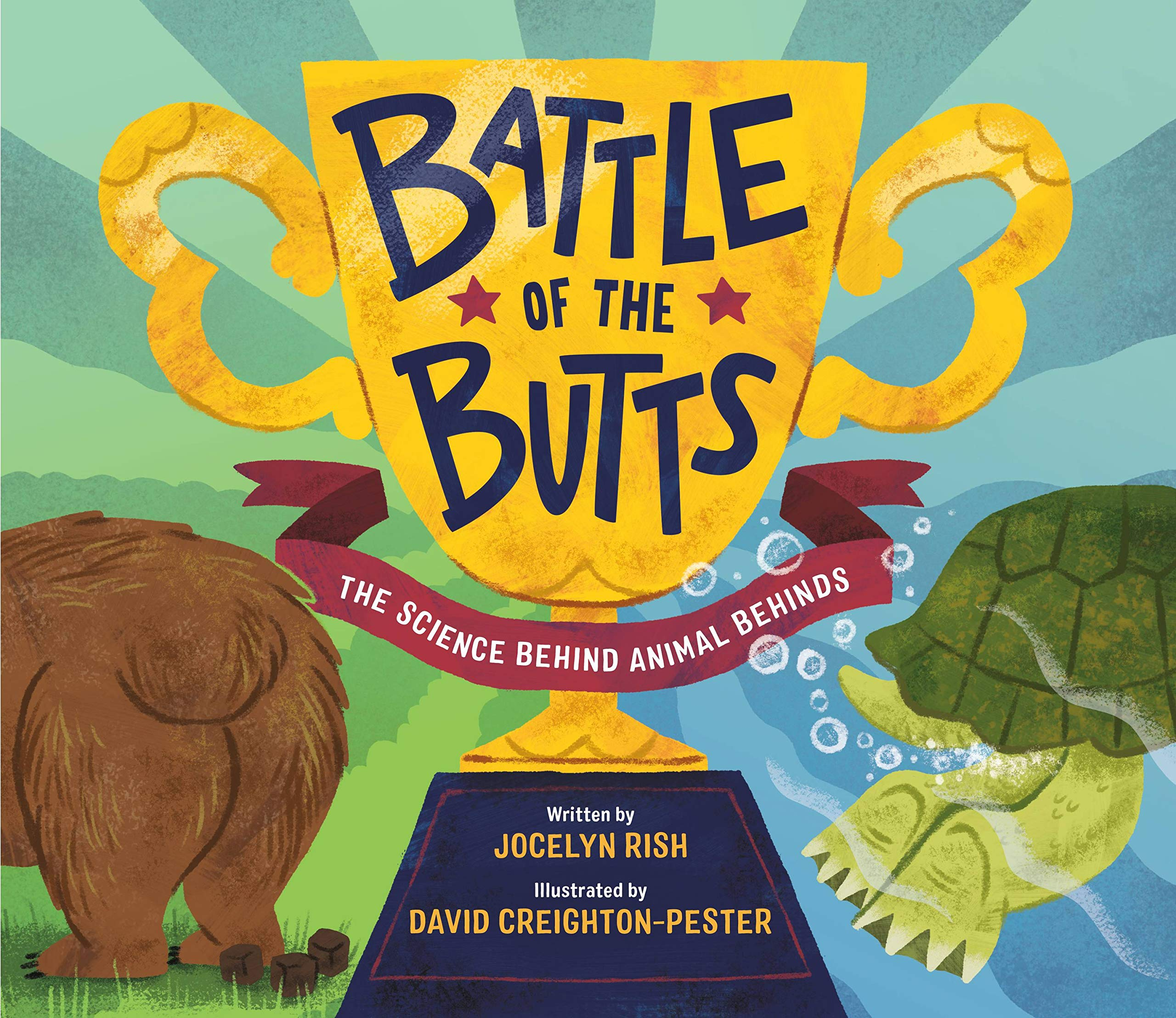 Battle of the Butts cover